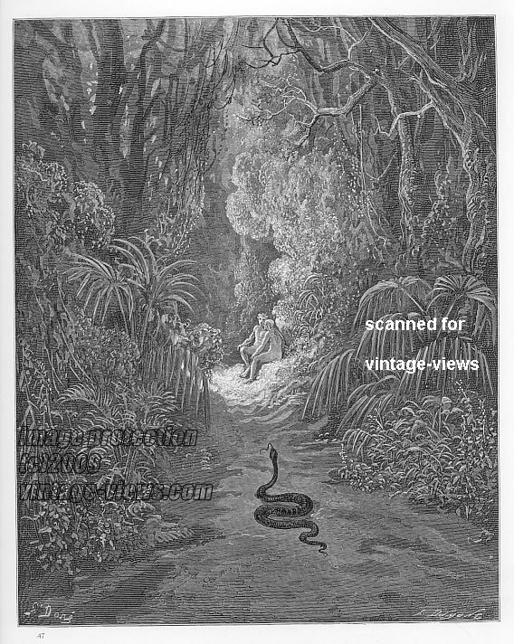 adam and eve paradise lost essay Adam and eve genesis story english literature essay  in the episode of eve's dream, paradise lost seems to be suggesting that the difference between this husband .