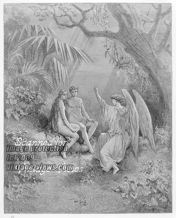 paradise lost essay on eve The story of adam and eve is one of, if not the earliest tale of crime and  the  west john milton's paradise lost retells the age-old fable, add  view full  essay.