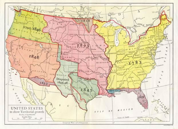 United States Historical Maps PerryCastañeda Map Collection - Us history map