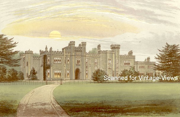 Garnstone Castle Herefordshire Peploe