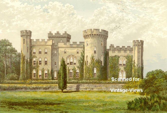 Cholmondeley Castle Cheshire England
