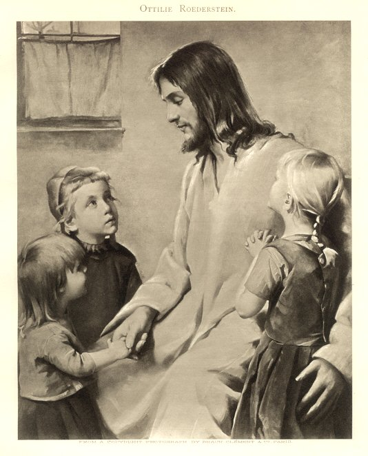Suffer the little children to come unto me roederstein