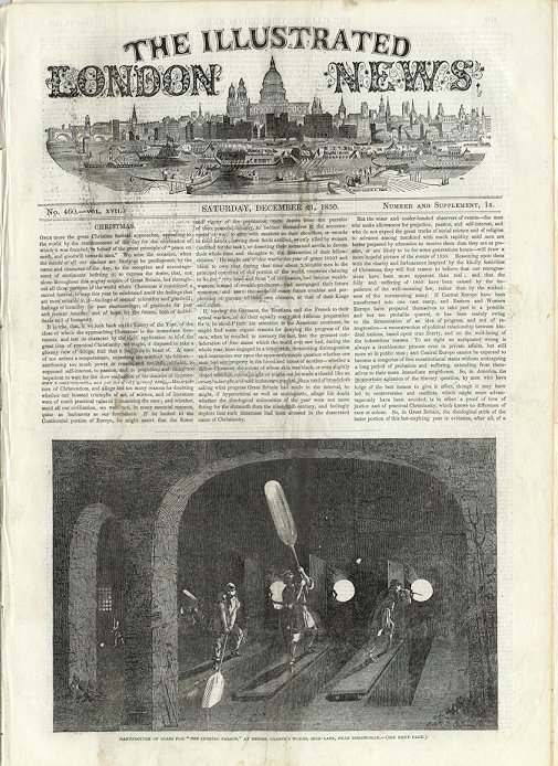 Illustrated London News  December 21, 1850