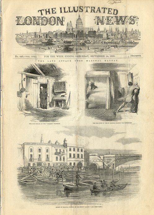 Illustrated London News  September 14, 1850