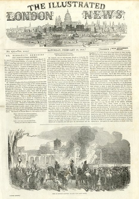 Illustrated London News  February 15, 1851