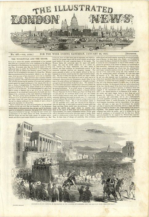 Illustrated London News  June 7, 1851