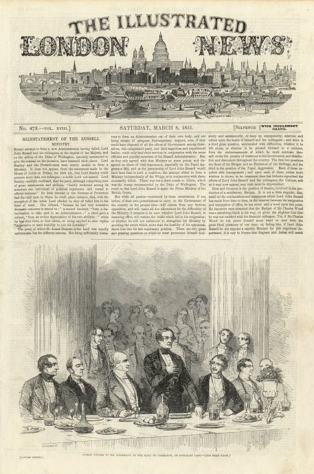 Illustrated London News  March 8, 1851
