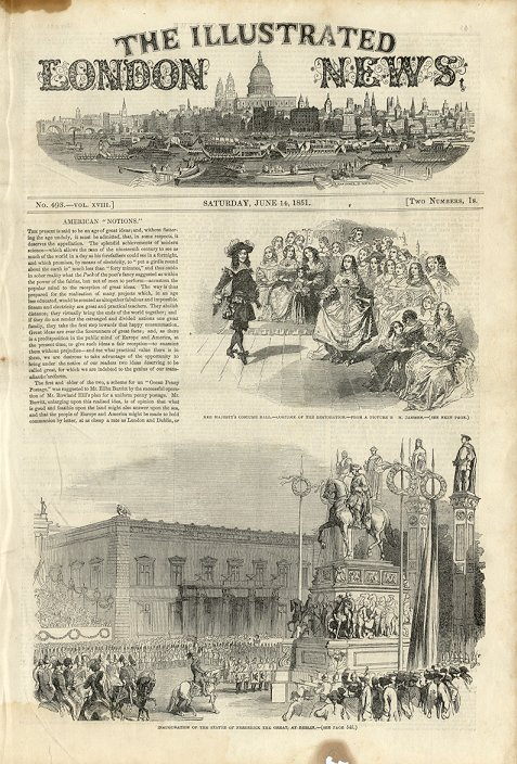 Illustrated London News  June 14, 1851