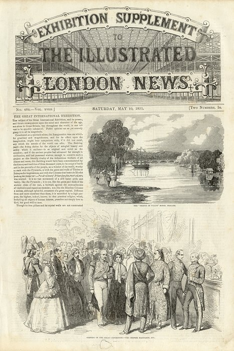 Illustrated London News  May 10, 1851