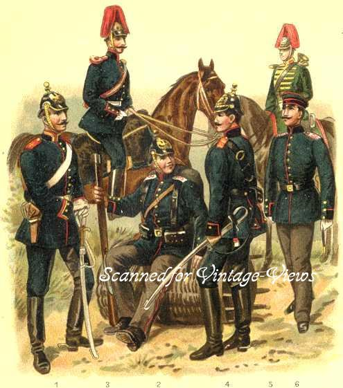 SOLDIERS AND UNIFORMS OF THE ITALIAN ARTILLERY,British