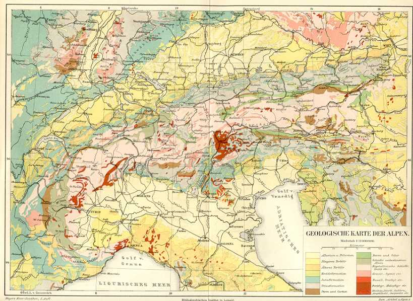 Map of Italian Alps Italy Italian Alps Mailand