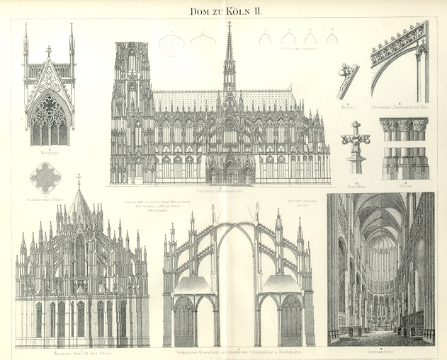 Cologne Cathedral Drawing Cathedral in Cologne,dom zu
