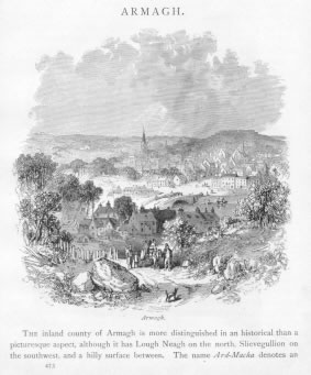 ARMAGH VIEW Armagh County Ireland