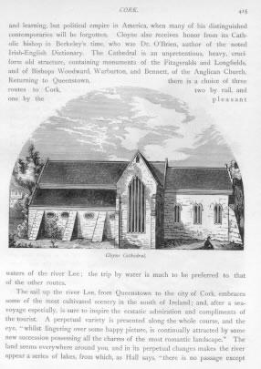 CLOYNE CATHEDRAL Matthew Tower Cork County Ireland