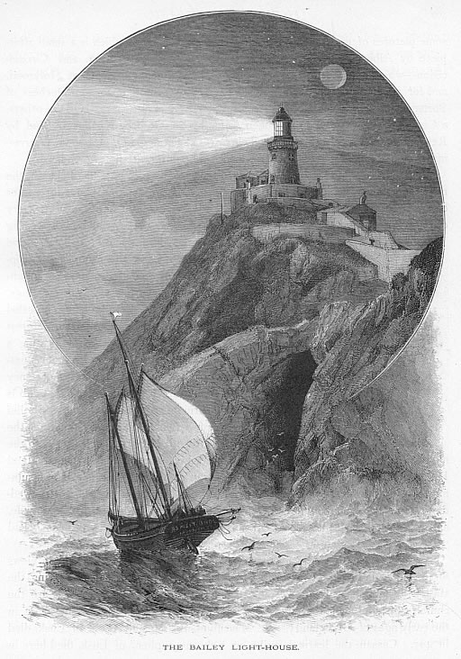 THE BAILEY LIGHTHOUSE,HOWTH IN DUBLIN COUNTY,Ireland