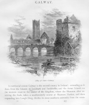 CLARE ABBEY Galway County Ireland