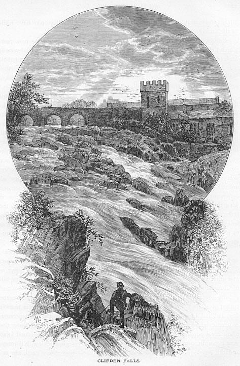 CLIFDEN FALLS Galway County Ireland