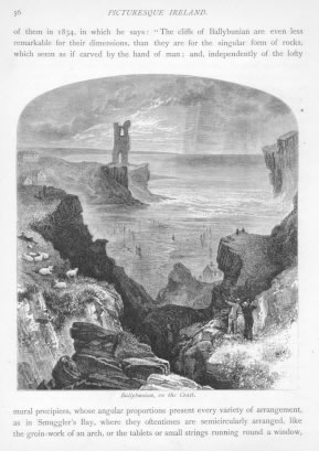 BALLYBUNIAN ON THE COAST Kerry County Ireland