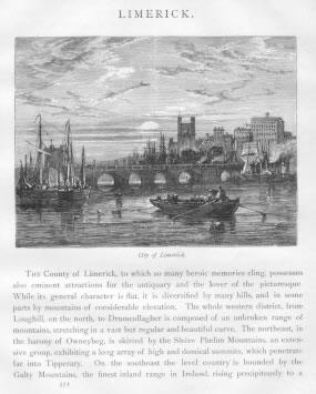 CITY OF LIMERICK Limerick County Ireland