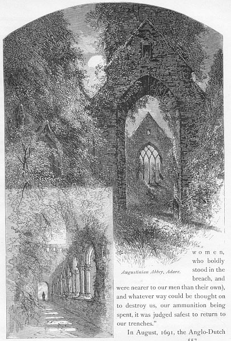 AUGUSTINIAN ABBEY IN ADARE Limerick County Ireland