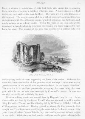 ABBEY OF SLANE BECTIVE ABBEY Meath County Ireland