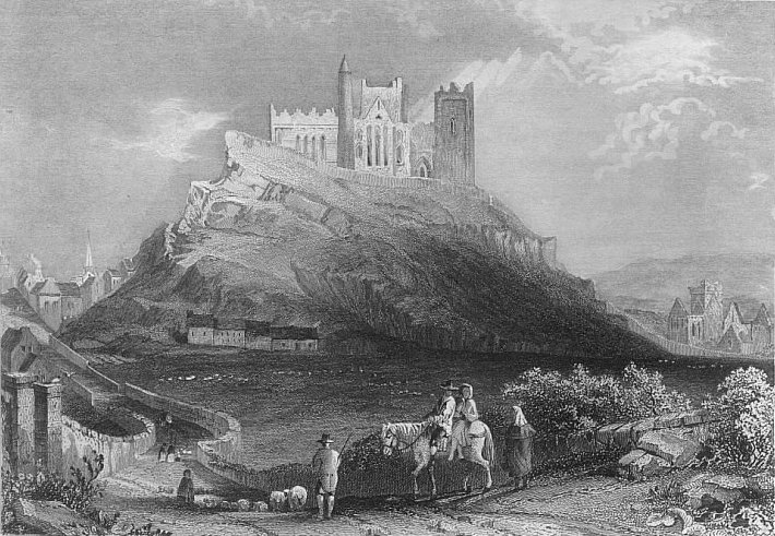 CASHEL FROM THE NORTH,Tipperary County,Ireland