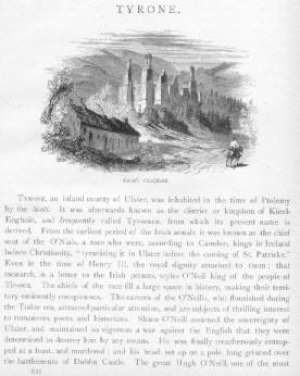 CAULFIELD CASTLE Tyrone County Ireland