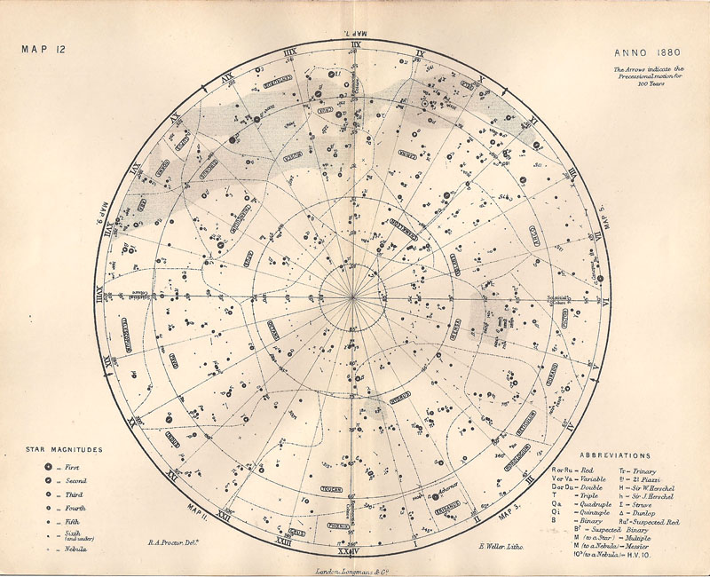 old navigational maps astronomy - photo #22